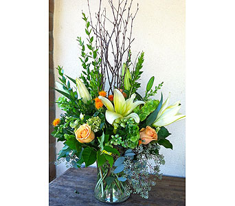 Fall Vase in Rancho Santa Fe CA, Rancho Santa Fe Flowers And Gifts