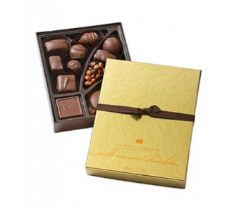 Harry London 8 oz. Gourmet Chocolates in Palm Desert CA, Milan's Flowers & Gifts
