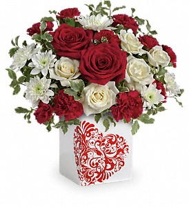 Teleflora's Best Friends Forever Bouquet in Northumberland PA, Graceful Blossoms