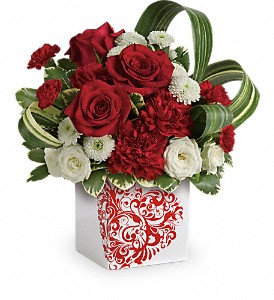 Teleflora's Cherished Love Bouquet in Houston TX, Fancy Flowers