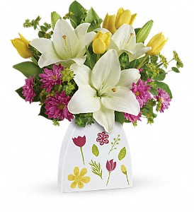 Teleflora's You Shine Bouquet in Chicago IL, Yera's Lake View Florist