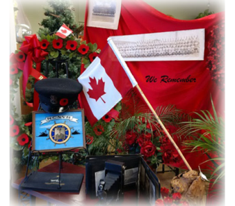 Lest We Forget in Timmins ON, Timmins Flower Shop Inc.