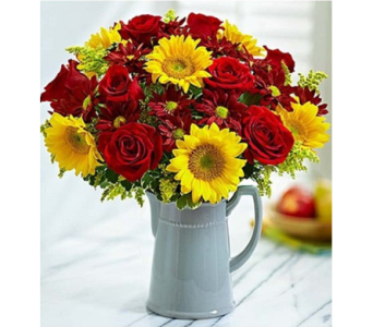 Harvest Spice Bouquet in Watertown CT, Agnew Florist