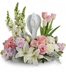 Teleflora's Garden Of Hope Bouquet in Branford CT, Myers Flower Shop