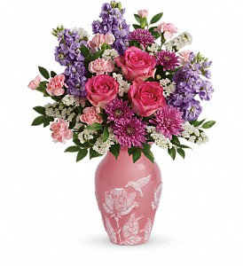 Teleflora's Love And Joy Bouquet in Santa Clara CA, Cute Flowers