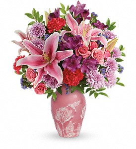 Teleflora's Treasured Times Bouquet in Santee CA, Candlelight Florist