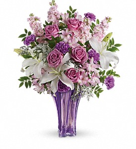 Teleflora's Lavished In Lilies Bouquet in Edmonton AB, Petals For Less Ltd.