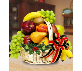 Holiday Fruit Basket in Indianapolis IN, George Thomas Florist