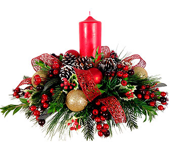 Yuletide Glow in Baltimore MD, Raimondi's Flowers & Fruit Baskets