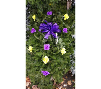 Purple Mix Blanket in Westland MI, Westland Florist & Greenhouse