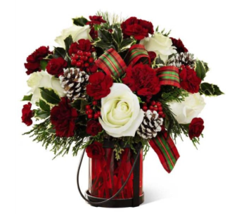 Holiday Wishes Bouquet dans Watertown CT, Agnew Florist