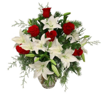 Rose and Lily Delight in Kissimmee FL, Golden Carriage Florist