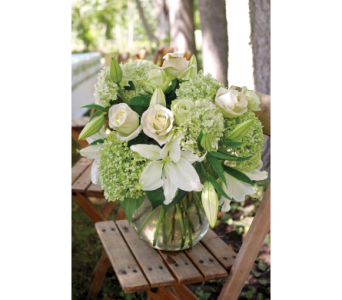 White Elegance Bouquet in Kissimmee FL, Golden Carriage Florist