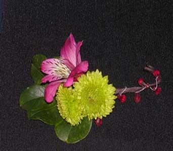 Button Boutonniere in Cary NC, Cary Florist
