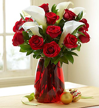 Red Rose & Calla Lily Bouquet in Jupiter FL, Anna Flowers