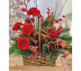 Cinnamon Basket in Indianapolis IN, George Thomas Florist