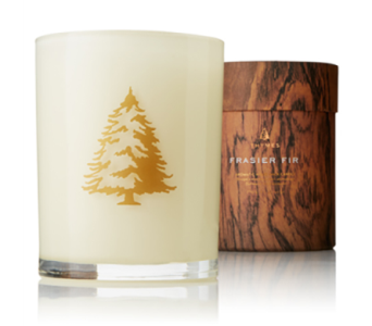 Frasier Fir Northwoods Thymes Wooden Wick Candle in Little Rock AR, Tipton & Hurst, Inc.