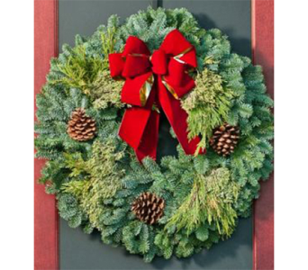 Fresh Christmas Wreaths in Indianapolis IN, George Thomas Florist