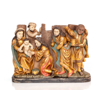 Baroque Nativity in Little Rock AR, Tipton & Hurst, Inc.