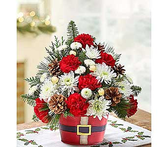 HOLLY JOLLY BOUQUET in Yelm WA, Yelm Floral