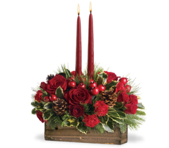 Rustic Holiday in Big Rapids MI, Patterson's Flowers, Inc.