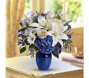 Beautiful in Blue in Indianapolis IN, George Thomas Florist