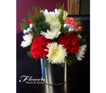 Christmas in a Can in Round Rock TX, Heart & Home Flowers