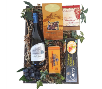 Oregon Wine Gift Box in Eugene OR, Dandelions Flowers