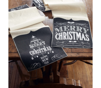 Chalkboard Table Runner- 20% OFF in Eugene OR, Dandelions Flowers