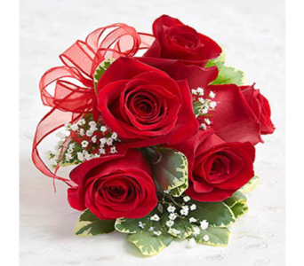 Red Rose Corsage in Indianapolis IN, George Thomas Florist