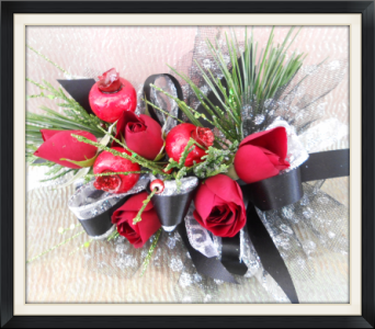 Christmas Corsage in Tyler TX, The Flower Box