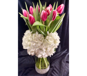 Tulips For My Love  in Largo FL, Rose Garden Florist