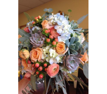 Peaches And Blues in Lakewood CO, Petals Floral & Gifts