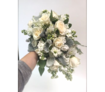 Ivory Blooms Cascade in Lakewood CO, Petals Floral & Gifts