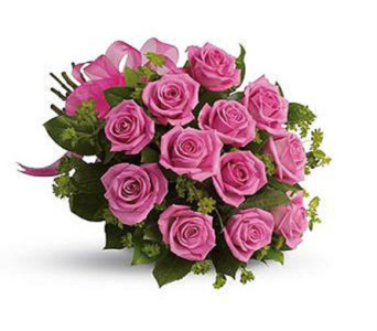 Rose pink in Orillia ON, Orillia Square Florist