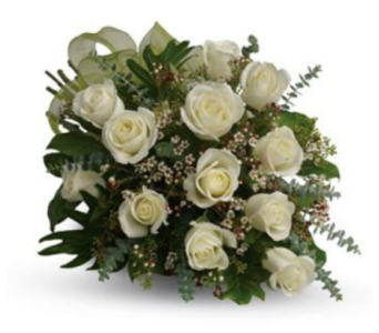 Rose White in Orillia ON, Orillia Square Florist