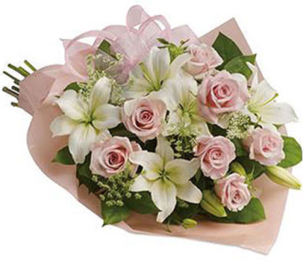 Rose Lilly Pink in Orillia ON, Orillia Square Florist