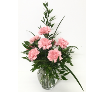 Pink Thoughts of You - Mini Ginger Jar- All-Around in Wyoming MI, Wyoming Stuyvesant Floral