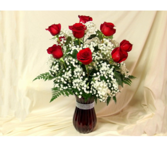 Red Roses Arranged in Hollidaysburg PA, Warner's Florist Gifts & Greenhouse