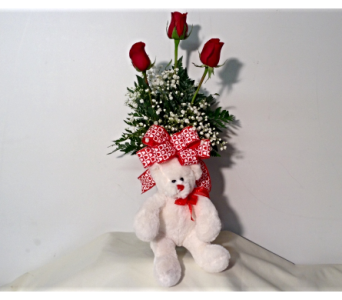 LOVE YOU BEARY MUCH in Sanford NC, Ted's Flower Basket