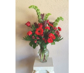 Passionate Reds in Nashville TN, The Bellevue Florist
