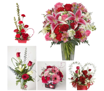 Designers Choice- Valentine Mix in Harrisonburg VA, Blakemore's Flowers, LLC