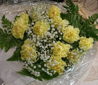 Yellow Carns in Markham ON, Freshland Flowers