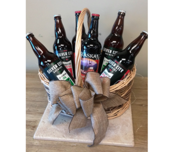 Beer Basket in Sequim WA, Sofie's Florist Inc.