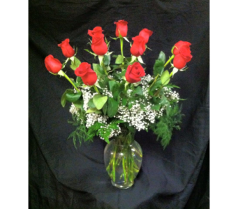 Dozen Roses  in New Iberia LA, Breaux's Flowers & Video Productions, Inc.