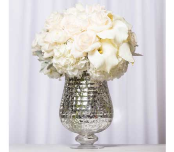 White Elegance in Santa Clarita CA, Celebrate Flowers and Invitations