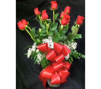 A Dozen Red Roses in New Iberia LA, Breaux's Flowers & Video Productions, Inc.