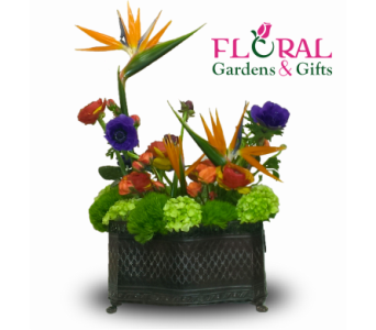 Tropical Tranquility In Palm Beach Gardens FL, Floral Gardens U0026 Gifts