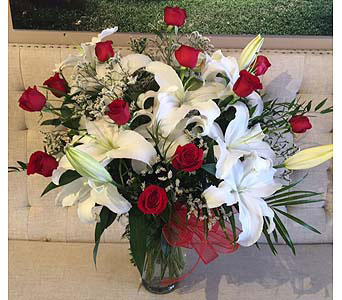 Upgraded Dozen Red Roses in Charleston SC, Tiger Lily Florist Inc.