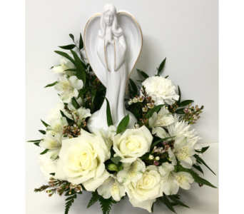 Keepsake Angel of Grace Arrangement in Wyoming MI, Wyoming Stuyvesant Floral